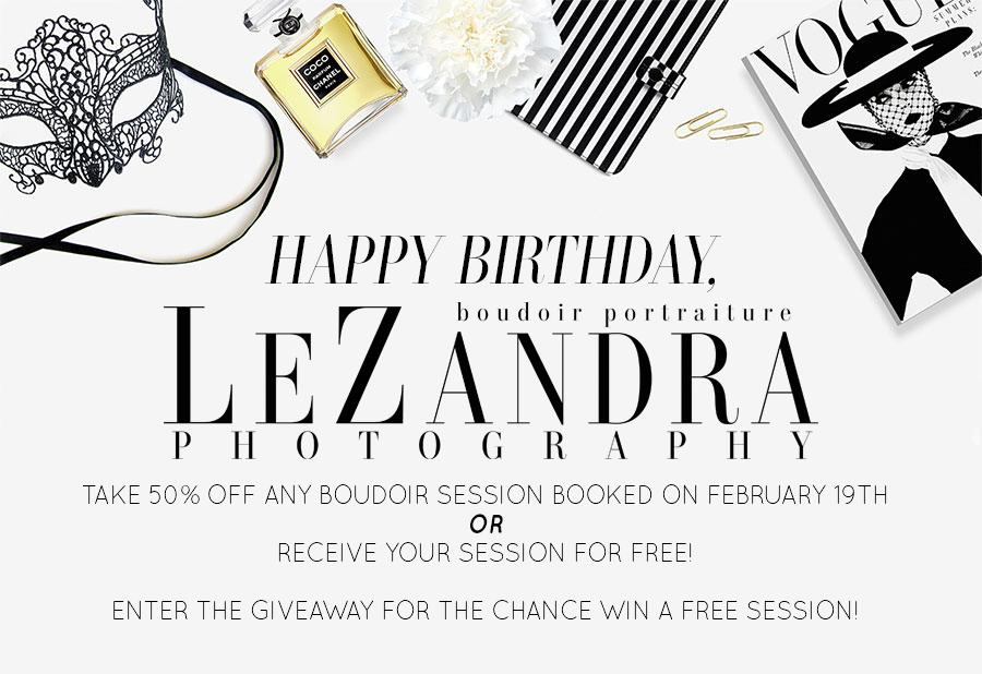LeZandra Photography Five Year Anniversary