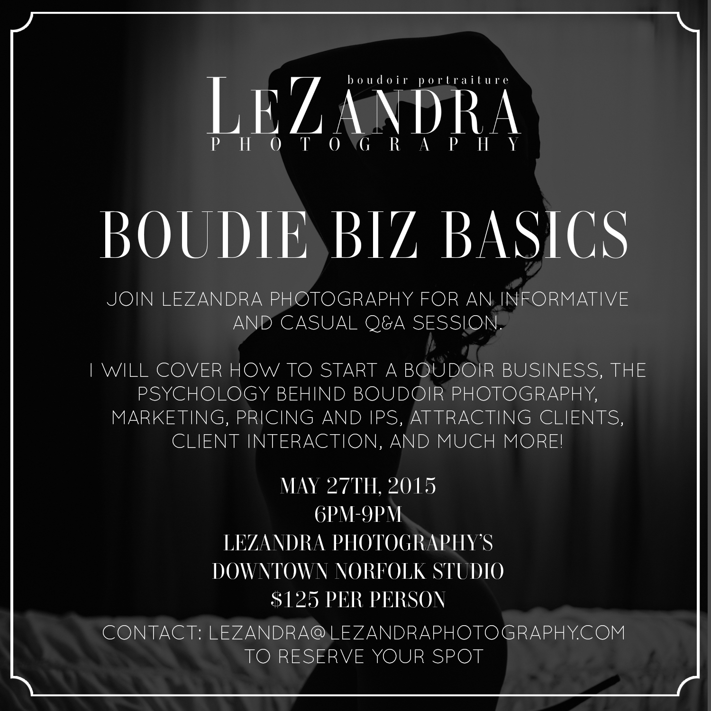 Boudie Biz Basics